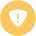 Protection Shield Exclamation Icon