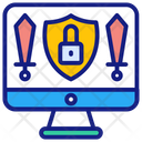 Protection Access Restriction Computer Security Icon
