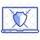 Protection Laptop Computer Icon