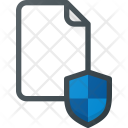 Protection Shield Paper Icon