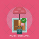 Protection Package Padlock Icon