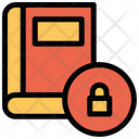 Book Protection Lock Icon