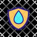 Waterproof Antiwetting Art Icon