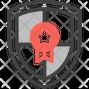Protection Guarantee Shield Insurance Icon