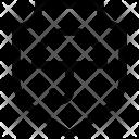 Protection Shield Umbrella Icon