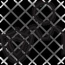 Protection Shield Antivirus Firewall Icon