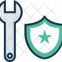 Protection Shield And Icon