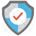 Protected Shield Guarded Icon