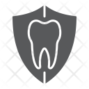 Protection Shield Tooth Icon