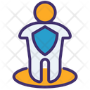 Protection Virus People Avatar Icon