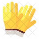 Protective Gloves Mitten Hand Protection Icon