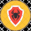 Virus Shield Virus Protection Safety Shield Icon