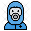 Protective Wear Outbreak Suit Icon
