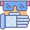 Mprotective Wear Protective Wear Glasses Icon