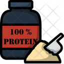 Fitness Protein Diet Icon