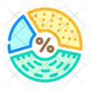 Protein Percentage Carbohydrates Icon