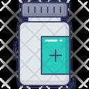 Protein Capsule Medicine Pill Icon