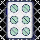 Pills Drugs Medicines Icon