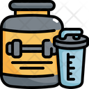 Protein Whey Bottle Icon