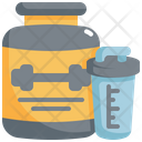 Protein Fitness Workout Icon