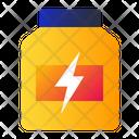 Protein Jar Energy Icon