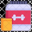 Protein Jar Icon