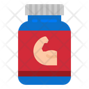 Protein Medicine Protein Powder Icon
