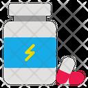 Protein Pills Icon