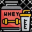 Whey Protein Energy Icon