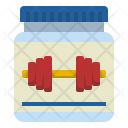 Whey Protein Supplements Icon