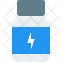 Protein Powder Supplement Icon