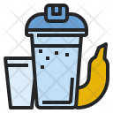 Protein Shake Banana Icon
