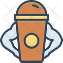 Protein Shake Protein Cocktail Icon