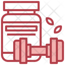 Supplement Protein Gym Icon
