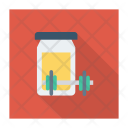 Protein Shake Jar Proteins Icon