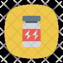 Proteins Jar Bottle Icon