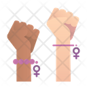 Fists Feminism Punch Icon