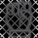 Protest Fist Fight Icon