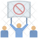 Protest Resistance Disagree Icon