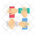 Protest Hands Up Supporter Icon