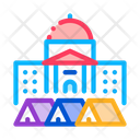 Protesting Tents Icon