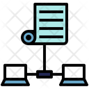 Protocol Communication System Icon