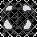 Proton Particle Atom Science Icon