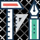 Prototype Pen Geometry Icon
