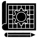 Prototype Pattern Concept Design Icon