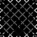 Prototype Crop Creative Design Icon