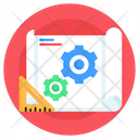 Blueprint Prototype Prototype Tools Icon