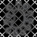 Protozoa Microbe Virus Icon