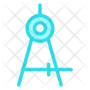 Protractor Tool Drawing Icon