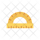Measure Tool Protractor Icon